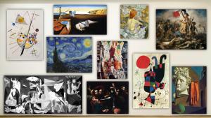 Δέκα κομμάτια για δέκα πίνακες
