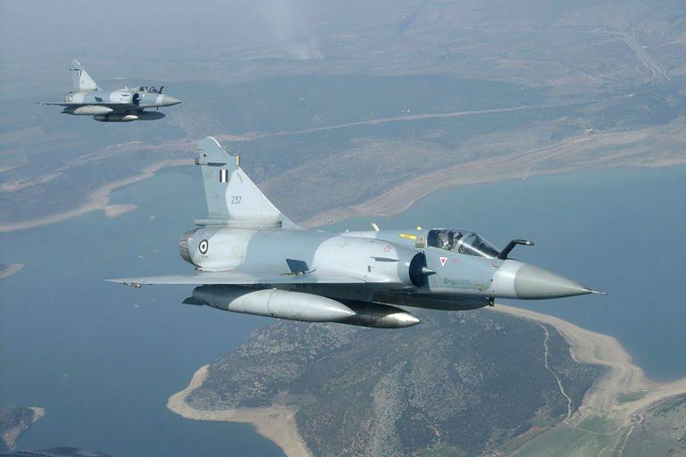 Συνετρίβη πολεμικό αεροπλάνο στις Σποράδες