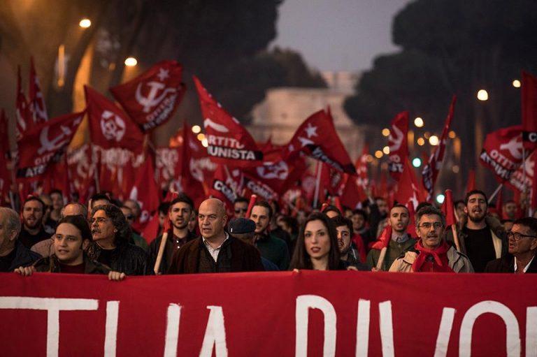 Το ελπιδοφόρο αποτέλεσμα του Partito Comunista στις ιταλικές εκλογές
