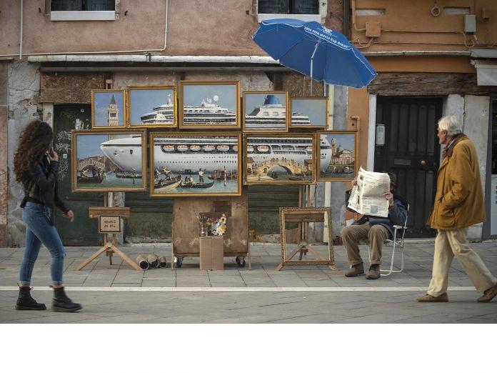 Ο Banksy στη  Βενετία