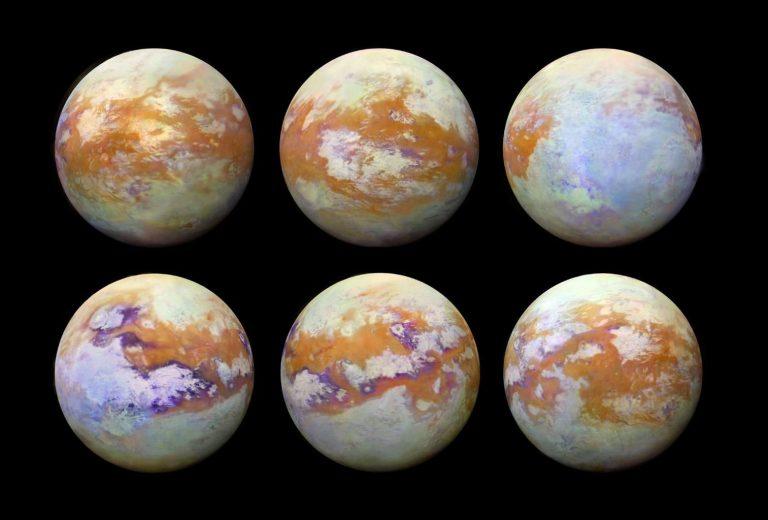 Δημοσιεύτηκε ο πρώτος χάρτης της επιφάνειας του Τιτάνα